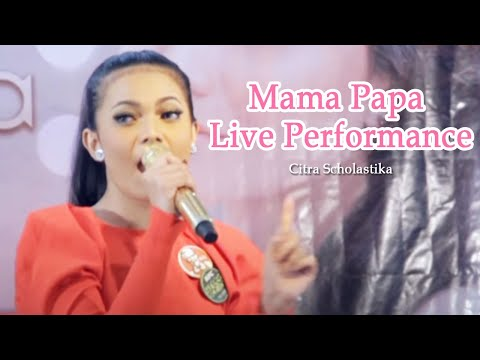 Citra Scholastika - Mama Papa Live Performance At KFC Kemang