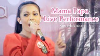 Citra Scholastika - Mama Papa Live Performance at KFC Kemang