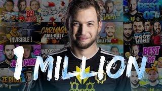 1 MILLION D'ABONNÉS ! MERCI !