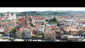 Imagefilm Passau aus der Luft