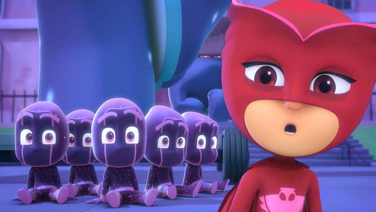 출동! 파자마 삼총사 모아보기 | 60분 웃기는 악당들이 | PJ Masks | 어린이 만화