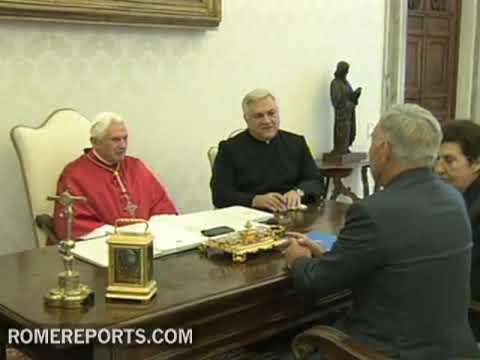 Pope receives Kazakh president Nursultan Nazarbayev