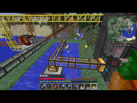 Minecraft FTB: Direwolf Dicks Episode 33 - Nuclear Waste Disposal, For Dicks