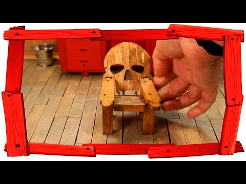 Wooden Skull Chair Wayfair Dining Chairs Tiny Adirondack Youtube