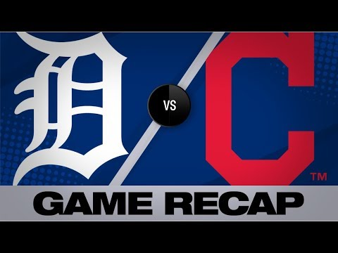 Ramirez homers plates 3 RBI in Indians' win | Tigers-Indians Game Highlights 7/18/19
