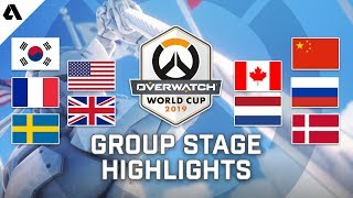 Overwatch World Cup 2019 Group Stage Highlights