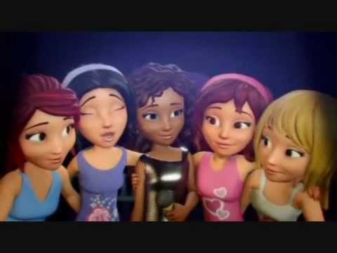 Lego Friends Andrea We Can Do It Music Video Youtube