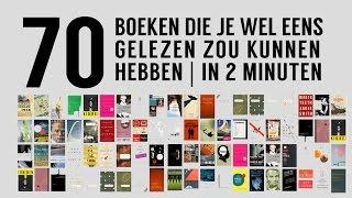 70 boeken die je wel eens gelezen zou kunnen hebben | in 2 minuten