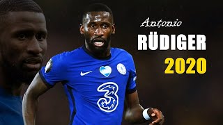 Antonio Rüdiger Defending Skills & Tackles & Passes 2020