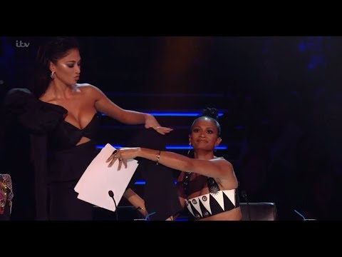 Alesha Covers Nicoles Underwear After AMAZING Kevin Davy White Act! The X Factor UK 2017 from YouTube · Duration:  5 minutes 24 seconds