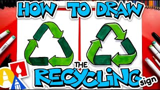 How To Draw The Recycling Symbol