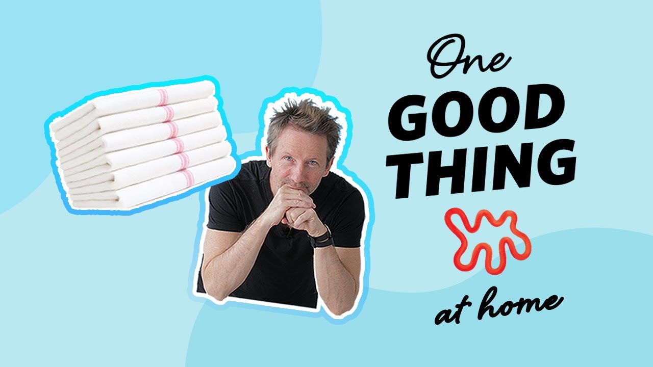 The Simple Habit That Keeps Your Kitchen Towels Bright White | One Good Thing | Apartment Therapy