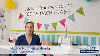 Nähaktion Wimpelkette: Wimpelkette für Butzbach (Teil 5 von 5)