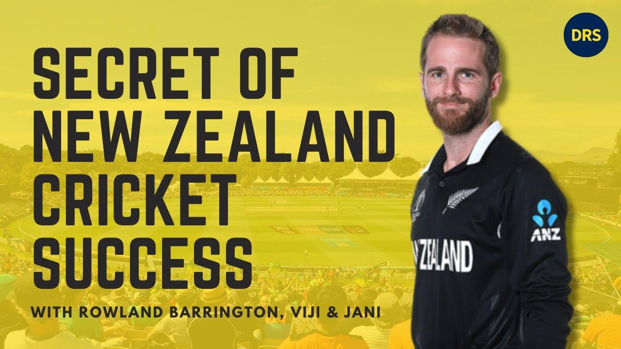 Secret of New Zealand cricket success | Ft. Rowland Barrington | The Dressing Room Show