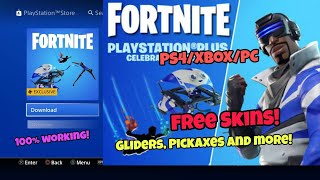 How To Get Free Skin, Pickaxe,Glider and contrail in Fortnite (working) Fortnite Glitches saison 5