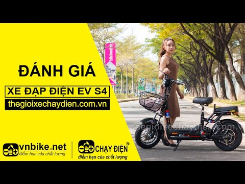 Đánh giá xe đạp điện EV S4