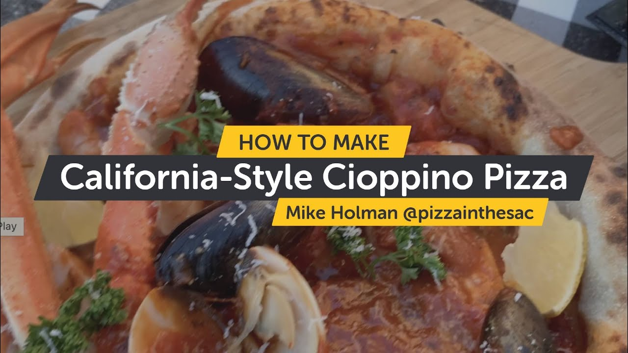 How To Make Cioppino Pizza | Making Pizza At Home
