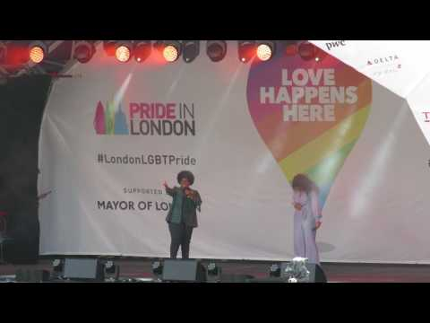 "Amber Riley & Liisi LaFontaine - Pride London 2017 - ""Listen"" from Dreamgirls"