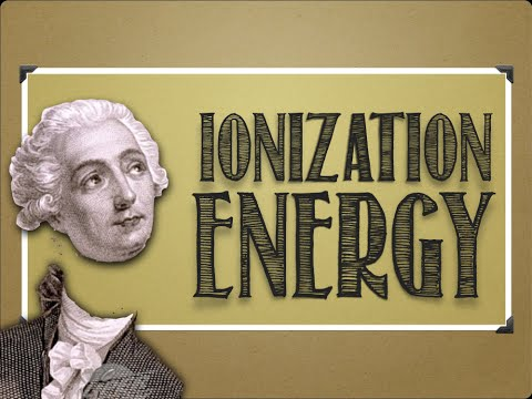 Modern Atomic Theory: Ionization Energy