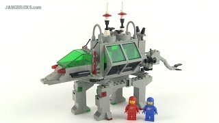 LEGO Classic Space Alien Moon Stalker 6940 set review - from 1986!