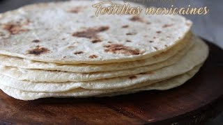 Tortilla mexicaine galette pour tacos /Mexican tortilla, Mexican bread