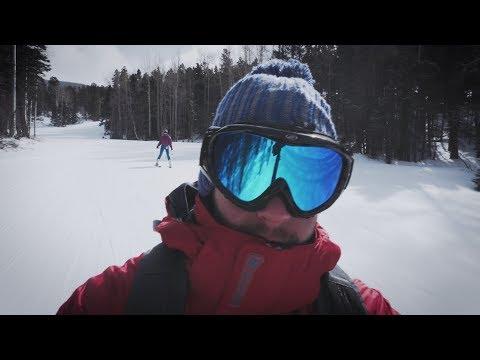 Skiing In Angelfire, NM