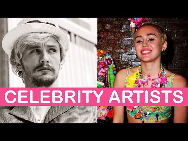 Celebrities Making Art | LittleArtTalks