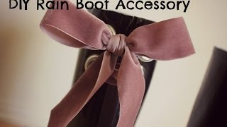 DIY Rain Boots - Rain Boots Accessories