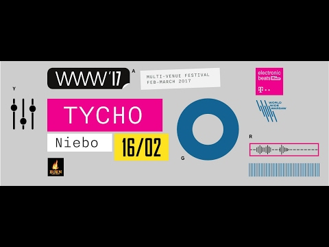 Tycho (US) - Live at Niebo, Warsaw 16th February 2017 FULL SHOW HD