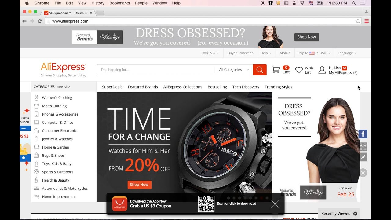 AliExpress - How to Register an Account on AliExpress