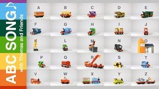 Learn ABC song, Alphabet song with Thomas and Friends toy trains