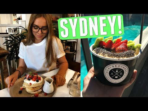 SYDNEY ADVENTURES! THIFTING & CUTE CAFES | RCV16