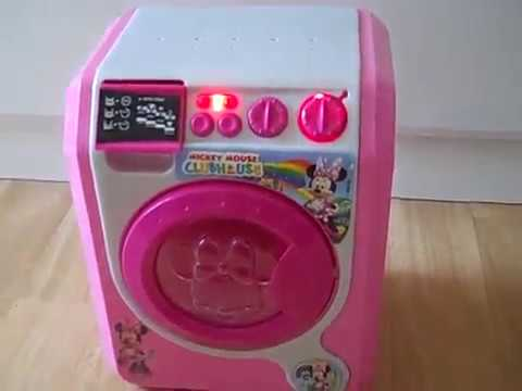 minnie mouse washing machine toy youtube. Black Bedroom Furniture Sets. Home Design Ideas