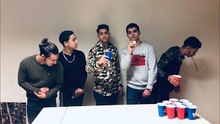Beer pong challenge!!!