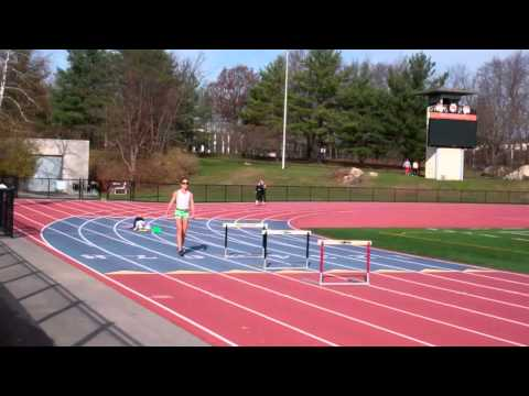 Hurdle Trail Leg Drills, Lead Leg Drills and over the middle