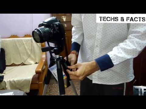 How To Fix A Camera Into A Tripod | How  To Attach Dslr In A Tripod