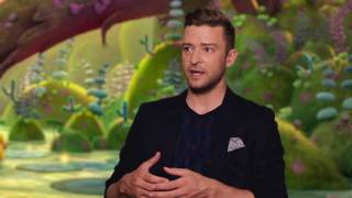 "Trolls ""Branch"" Justin Timberlake Behind The Scenes Interview"