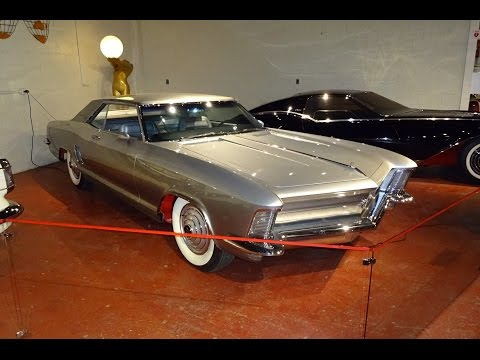 1963 Buick Riviera Silver Arrow I Concept Car at The Sloan Museum on My Car Story with Lou Costabile