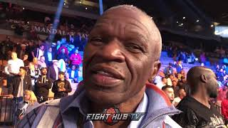Video MAYWEATHER SR REACTS TO DANNY GARCIA KO OVER BRANDON RIOS download MP3, 3GP, MP4, WEBM, AVI, FLV November 2018