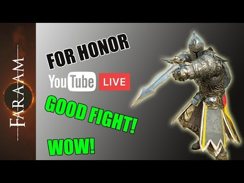 [For Honor] Weekend Chillstream