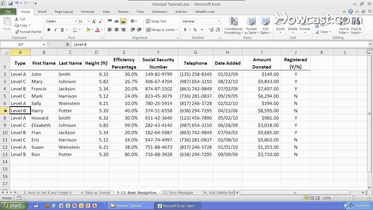 Building blocks of excel microsoft excel youtube for Excel builders