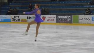 Youth give their best in figure skating competition at games