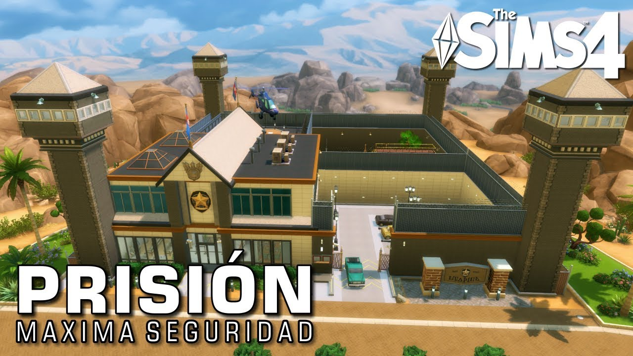PRISION DE MAXIMA SEGURIDAD | THE SIMS 4 SPEED BUILD (PRISON) #1