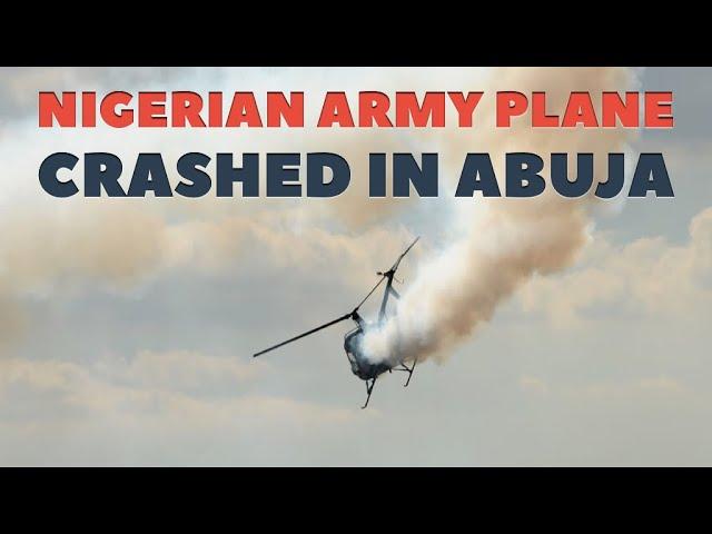 Military Aircraft crashes near Abuja City Airport