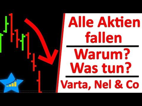 Alle Aktien fallen wie Varta Aktie & Plug Power Aktie – Warum & Was tun?