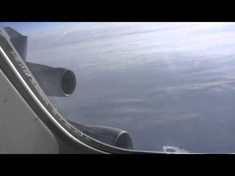 Flying Over The North Pole Air China Boeing 747400