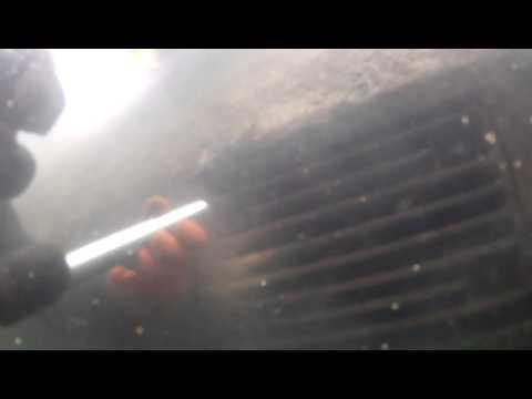 Underwater Cleaning of Sea Chests  / Подводная очистка кингстонных решеток