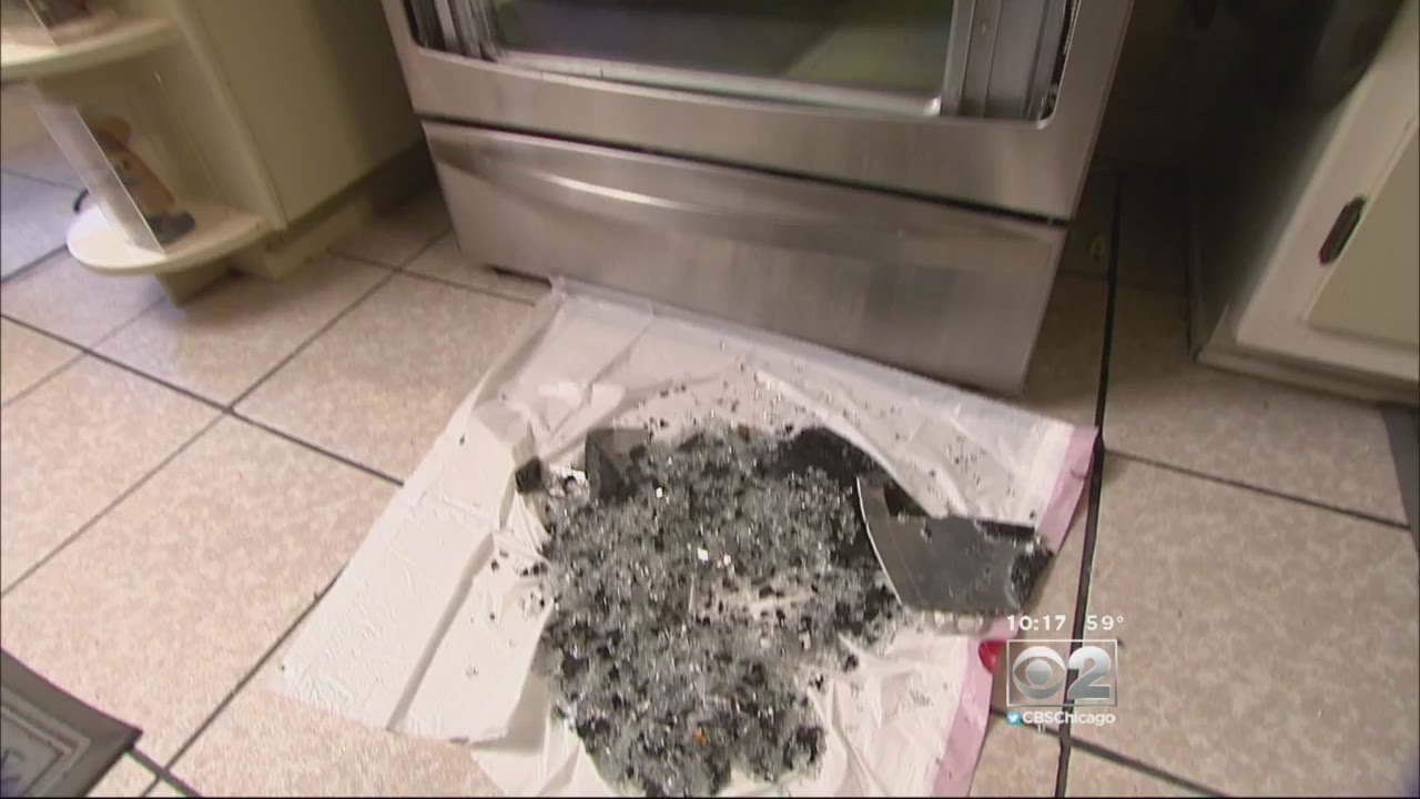 2 Investigators Glass Oven Doors Shattering Without Warning