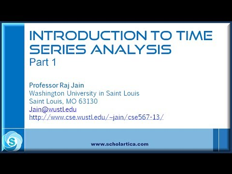 Introduction to Time Series Analysis: Part 1