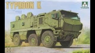 Фото Сборка и покраска бронеавтомобиля TYPHOON K от TAKOM. Часть 6.